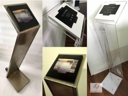 Atril multimedia para tablet